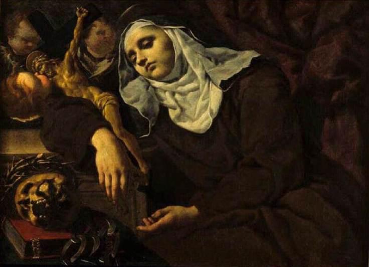 Mary-Magdalene-de-Pazzi_Ecstasy of MMP_Alessandro Rosi 1670
