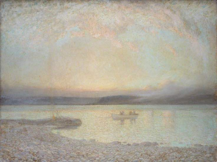 MacArthur, Lindsay Grandison, c.1866-1945; Dawn over Galilee