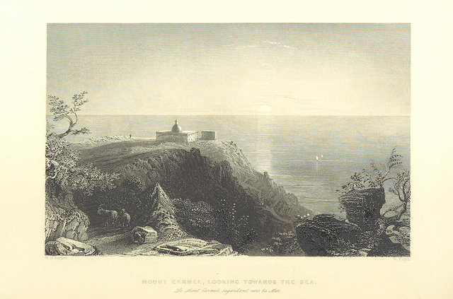Mount Carmel Looking toward the sea_British Library_Medium