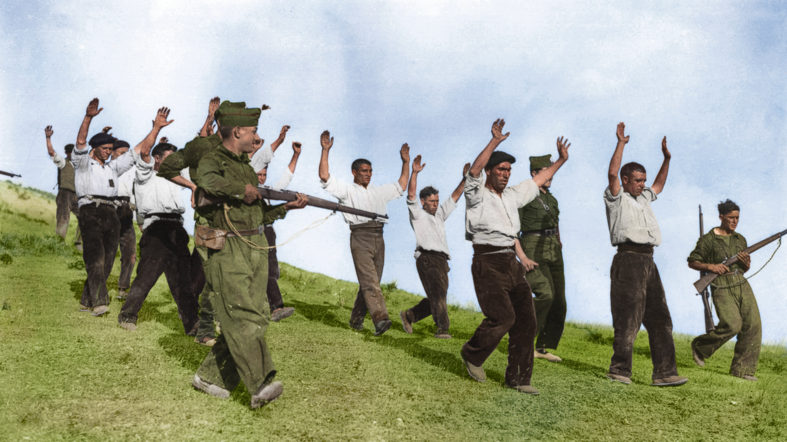 Spanish Civil War - Arrests at Guadarrama