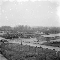Period photo of barracks