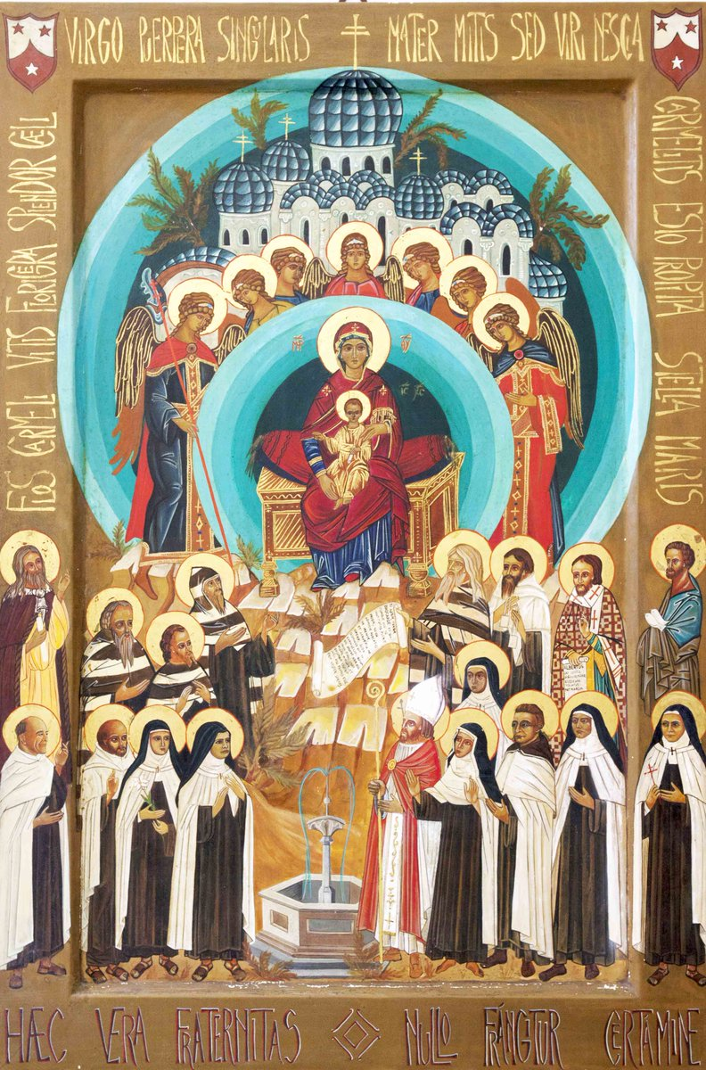 All Carmelite Saints Ravenna icon