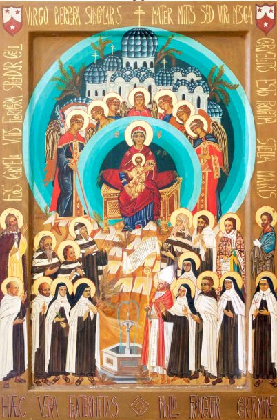 All Carmelite Saints Ravenna icon
