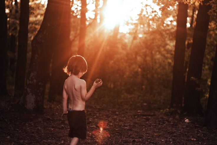 pine cone kid
