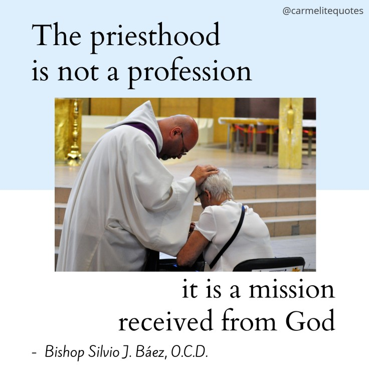 BAEZ - The priesthood is not IGsize