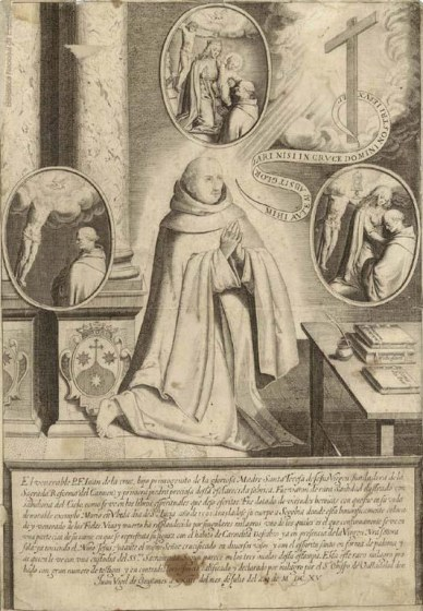 Saint John of the Cross and three miraculous apparitions in his relics
