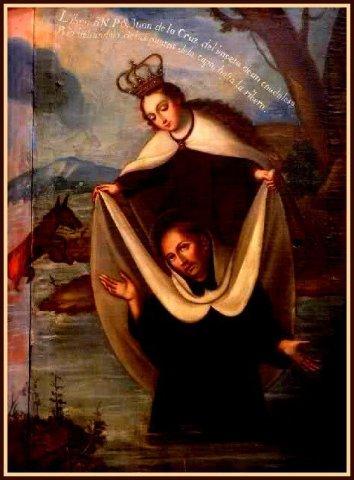Juan de la Cruz (icon lift up from water)