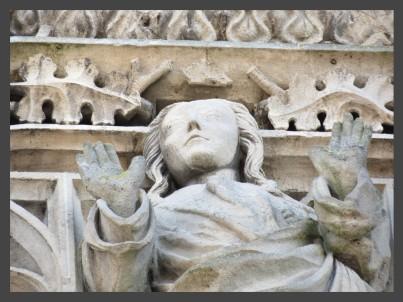 alenÇon - portail assomption de la ste vierge