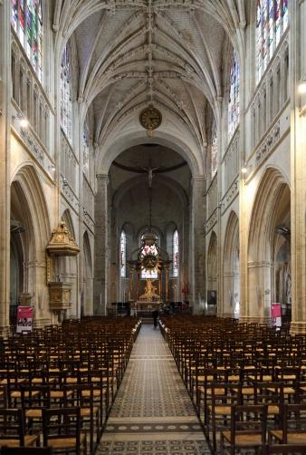 Notre-Dame d'Alençon, the nave