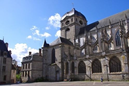 Notre-Dame d'Alençon, north transept