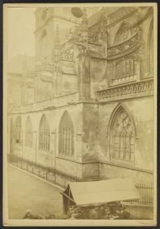 Notre-Dame d'Alençon, north nave wall