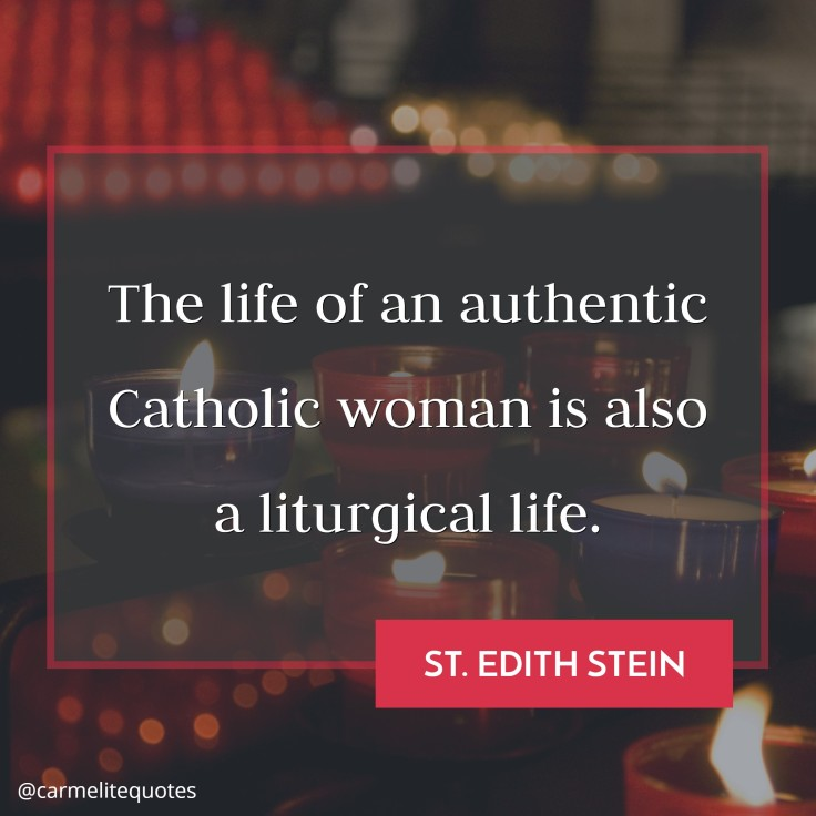 EDITH - The life of an authentic Catholic woman