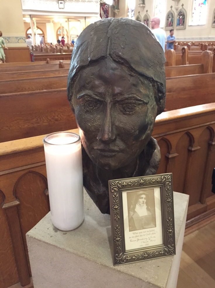 Edith bust candle 21 july 18