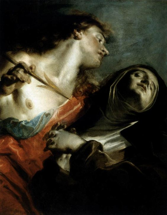 Giuseppe Bazzani, The Ecstasy of saint Teresa, 1745-1750