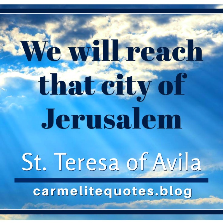 TERESA AVILA - By proceeding with humility IGsize