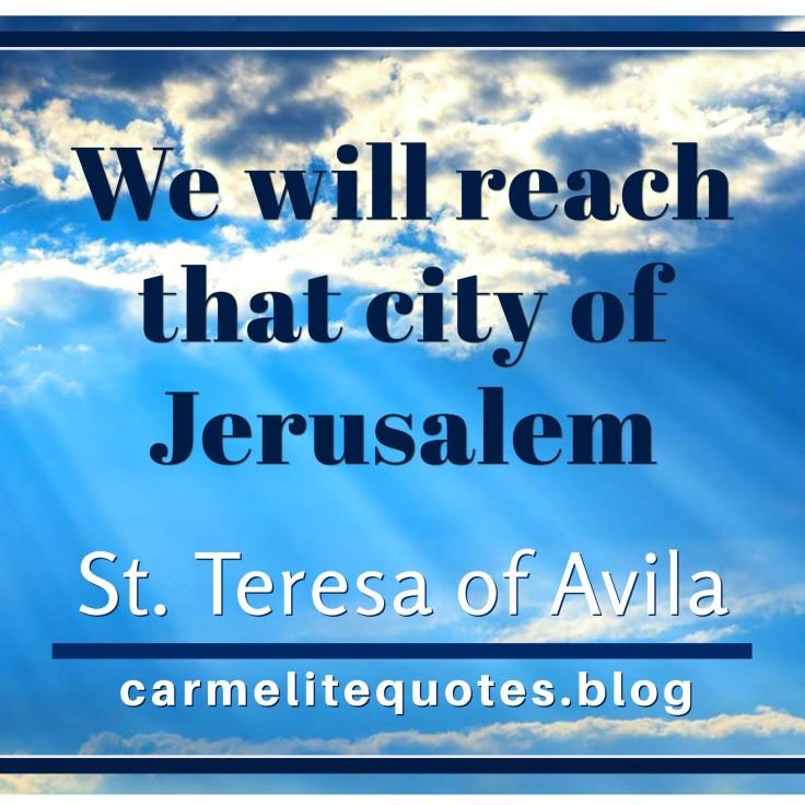 TERESA AVILA - By proceeding with humility IGsize