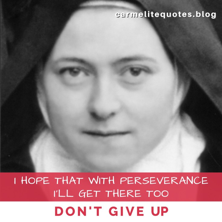 THERESE - I hope that with perseverance IGsize