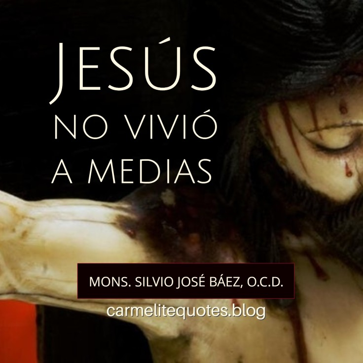 BAEZ - Jesus didnt live halfway IGsize