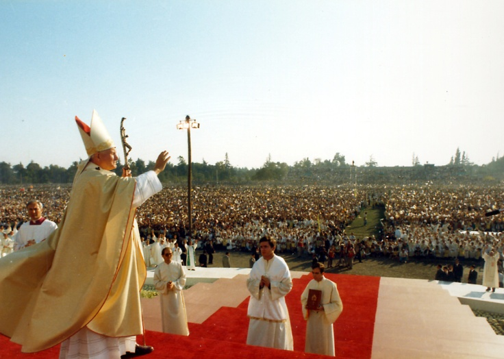 Beatification Teresa de los Andes 1987 Blessing
