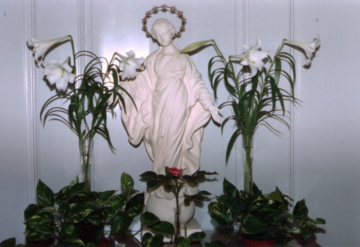 Vierge du Sourire Les Buissonnets