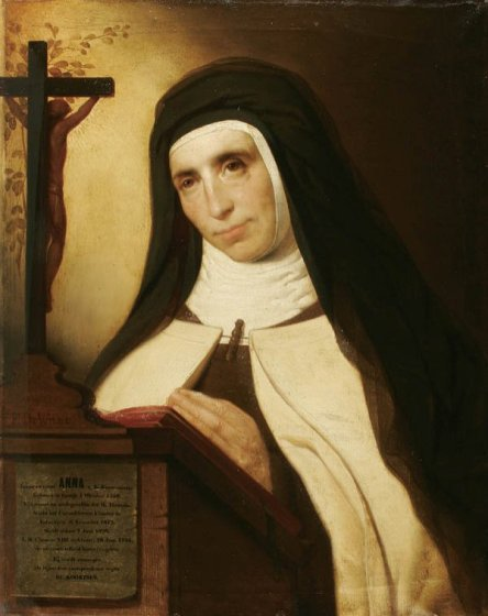 Ana-de-San-Bartolome_praying-before-an-altar_FrancedeWilde