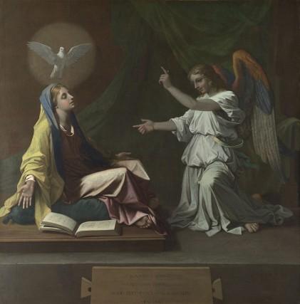 Annunciation_Nicolas Poussin_1657 NatlGalleryLondon (2)