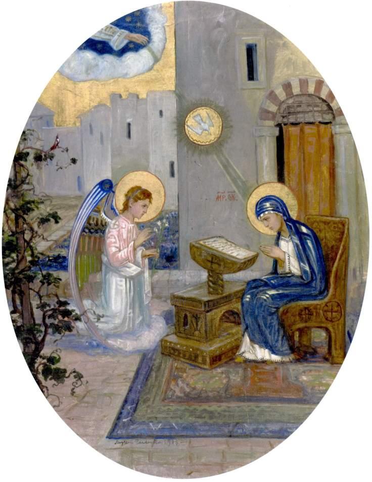 Annunciation_Sosenko 1913