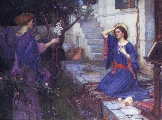 Annunciation_WATERHOUSE John William_Tate Britain