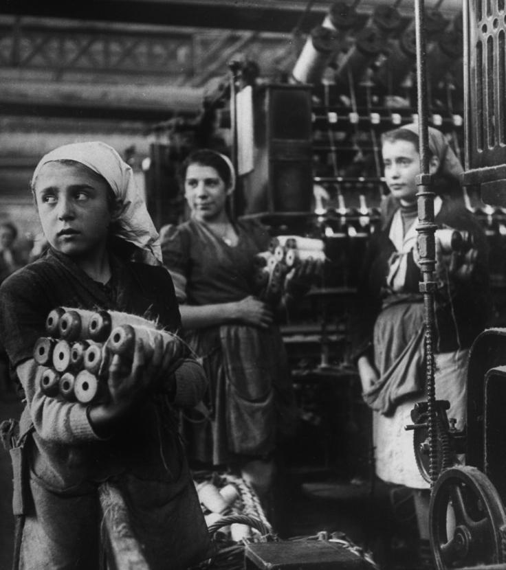 France 1949 Nat Farbman LIFE