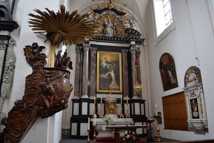 Karmelietessenklooster, Antwerp sanctuary