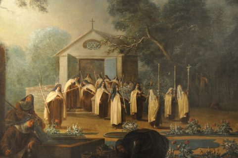La procession des Carmélites_GUILLOT Laurent_Musee Saint-Denis