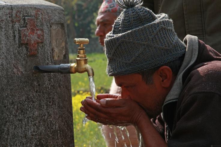 Water tap in Kaski Nepal