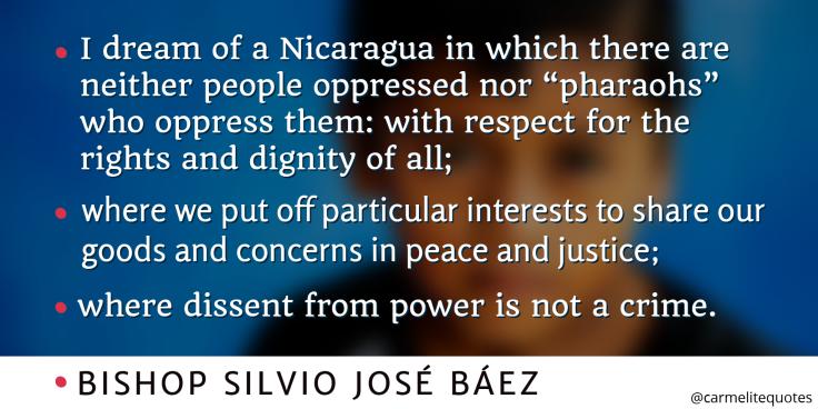 BAEZ - I dream of a Nicararagua