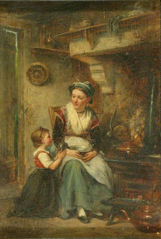 Caille, Leon Emile, 1836-1907; Prayer