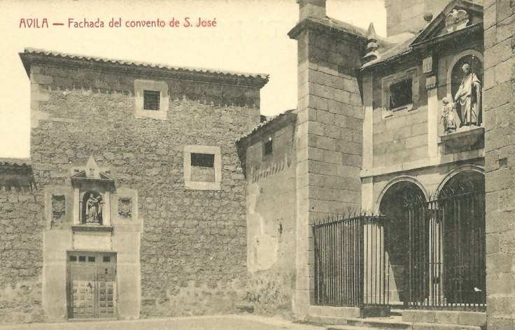 Avila_San Jose de Avila antique postcard 01