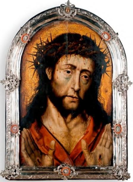 Albert Bouts, Ecce Homo, ca.1510, óleo sobre tabla, Convento de Carmelitas Descalzas, Toledo