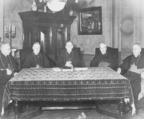 Dutch Bishops 1943 in Utrecht