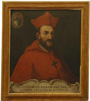 Filippo_Sega nuncio who jailed Juan