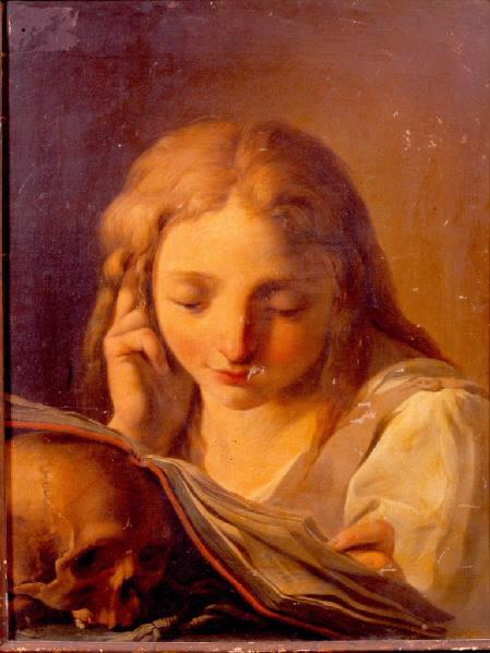Mary-Magdalene reading_anonymous french 18th c
