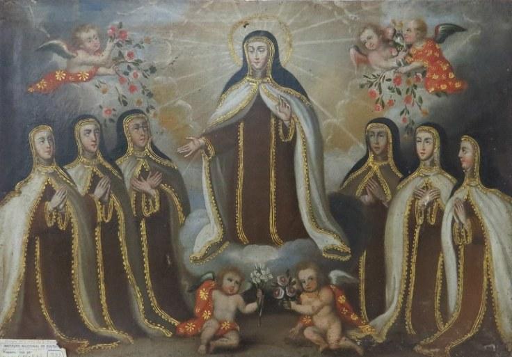 Apparition in Segovia Cuzco artist Patrimonio Catolico Pero