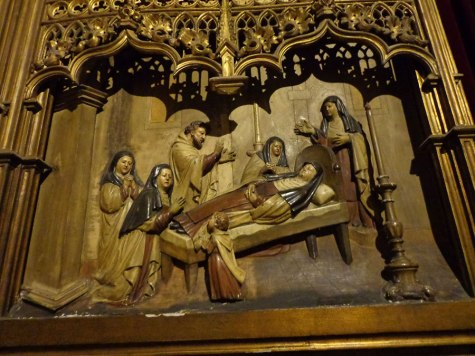 Death of St Teresa - Madrid San Jorge