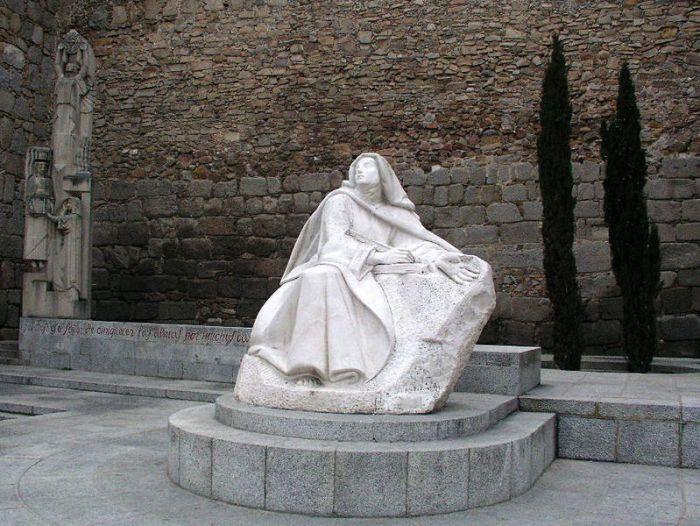 escultura de santa teresa