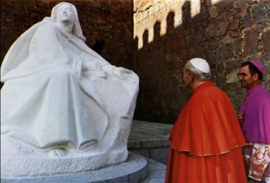 inaguración por Juan Pablo II-1
