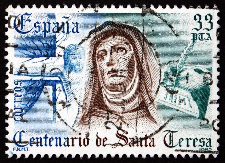 Teresa-Avila_1982-centenary_Spanish-postage-stamp