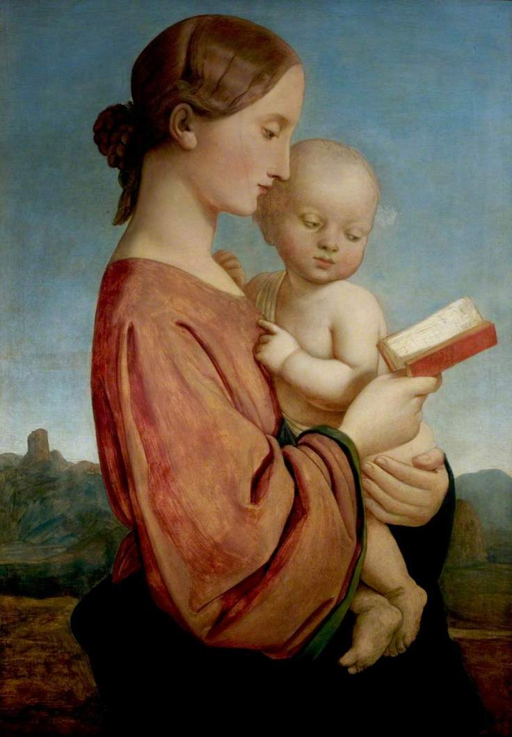 Dyce, William, 1806-1864; Virgin and Child