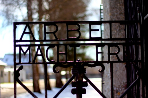 Dachau gate P Fahr Flickr