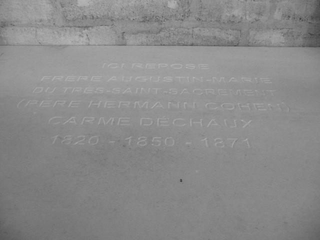 Hermann Cohen tomb le Broussey P1030779