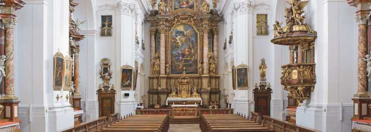 Linz convent church