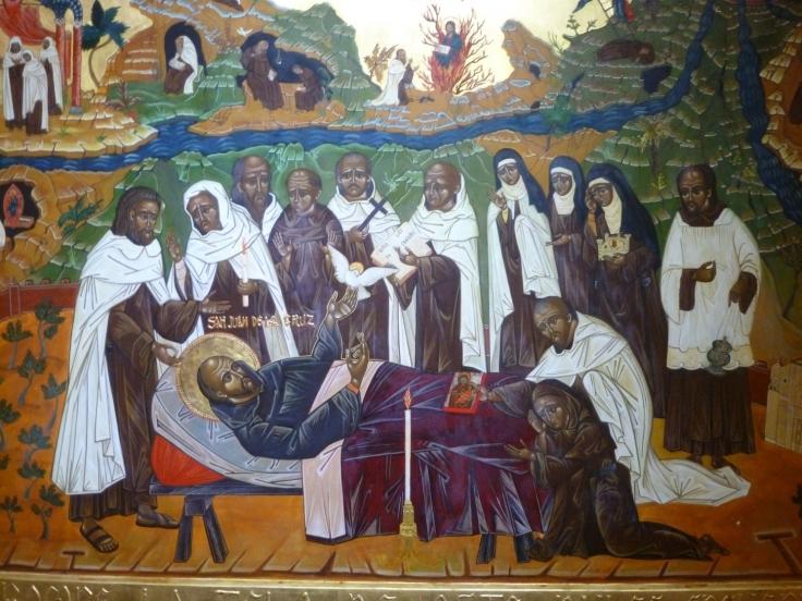 Burial of St John of the Cross icon Ubeda