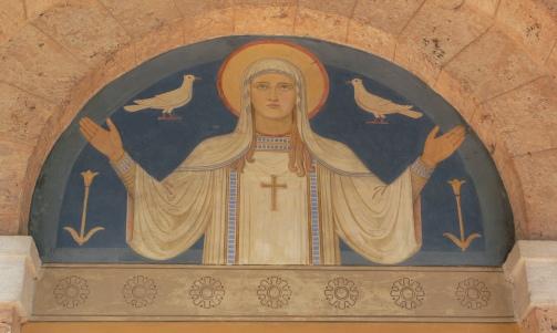 Immaculate Conception Beuron_Abteikirche_Vorhalle_2